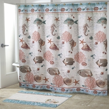 Seaside Vintage Shower Curtain by Avanti