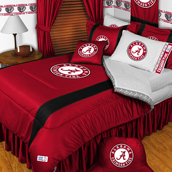 Sidelines Alabama Crimson Tide Bedding And Accessories Full Bedskirt Only 31 99