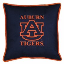 """Sidelines AUBURN TIGERS 17"""" Square Pillow"""