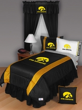 Sidelines IOWA HAWKEYES Bedding and Accessories