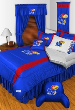 Sidelines KANSAS JAYHAWKS Bedding and Accessories