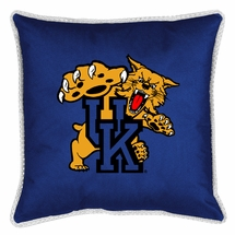 "Sidelines KENTUCKY WILDCATS 17"" Square Pillow"