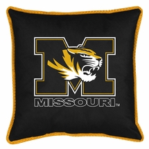 "Sidelines MISSOURI TIGERS 17"" Square Pillow"