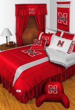 Sidelines NEBRASKA HUSKERS Bedding and Accessories