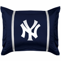 Sidelines New York Yankees Standard Sham