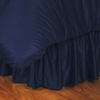 Sidelines New York Yankees Twin Bed Skirt-Navy