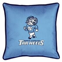 "Sidelines NORTH CAROLINA TAR HEELS 17"" Square Pillow"