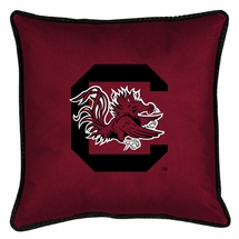 "Sidelines SOUTH CAROLINA GAMECOCKS 17"" Square Pillow"