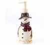 Snowmen Gathering Holiday Lotion Pump By Avanti