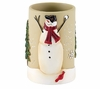 Snowmen Gathering Holiday Tumbler By Avanti