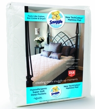 Snuggle™ 3/4 Bed Quilted Mattress Pad