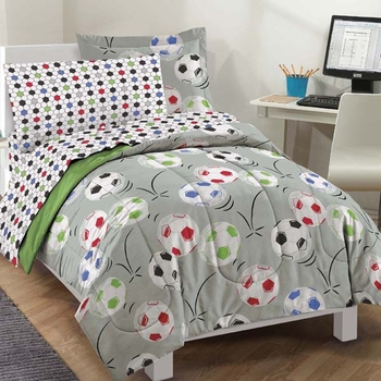 Soccer  Mini Bed In A Bag Set-Full size