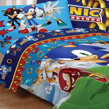 Sonic The Hedgehog Bedding For Kids Sd
