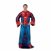 Spiderman Comfy Throw Blanket with Sleeves
