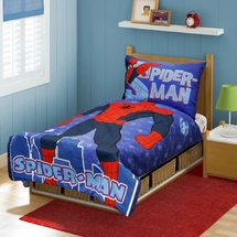 "Spiderman ""I am Spiderman"" Toddler Bed Set"