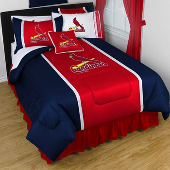 St. Louis Cardinals Bedding-Sidelines