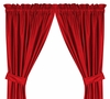 St Louis Cardinals Drapes-Sidelines