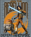 "Star Wars Rebels: Defeat The Emprie Plush Throw  50"" x 60"""