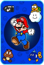 Super Mario Who's With Me Blanket Twin Size