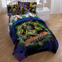 "Teenage Mutant Ninja Turtles ""Stars"" Bedding"