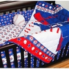 Texas Rangers 4-Piece Crib Set
