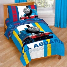 Thomas 4pc Toddler Bedding Set-All Aboard