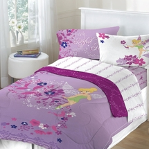 Tinkerbell Powder Purple Bedding for Girls