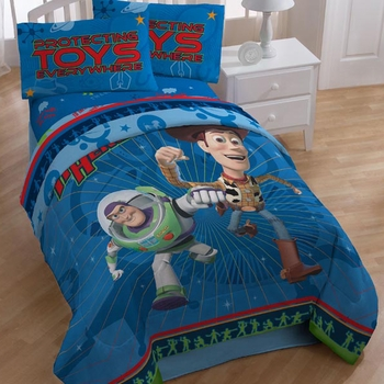 Toy Story Action Heroes Bedding for Boys