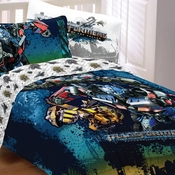 Transformers Motorized Bedding for Boys