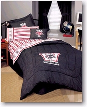 University of Wisconsin  Denim Pillow Sham