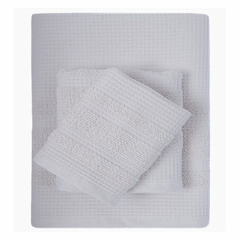 Waffle 6 Piece Towel Collection By Caro Home<br>FREE SHIPPING