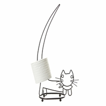 Walking Cat Toilet Tissue Holder by Taymor Industries