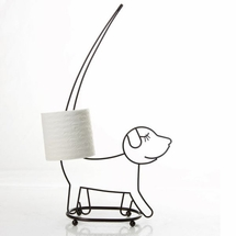 Walking Dog Toilet Tissue Holder by Taymor Industries