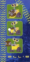 Wall-E Beach Towel 100% Cotton