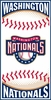 "Washington Nationals ""Center Field"" Beach Towel"