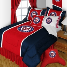 Washington Nationals MLB  Sidelines Bedding