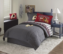 Washington Redskins Denim Comforter & Sheet Set Combo