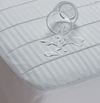 Waterproof Sateen Cotton Twin Size Fitted Mattress Pad