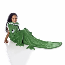 WestPoint Home Alligator Kids Plush Throw Blanket