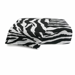 Zebra Sheet Set Black/White