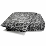Leopard Sheet Set Gray