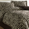 Wildlife  Zebra Comforter Set  XL Twin Size Brown or Pink