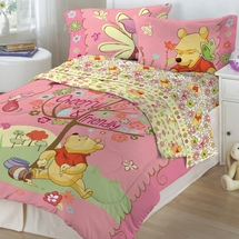 Winnie the Pooh- Cheerful Friendly Bedding for Kids