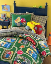 WonderKids TRUCKS Bedding Accessories for Kids