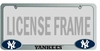 YANKEES License Plate Frame