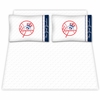 Yankees Microfiber Sheet Sets - Red Top Hat