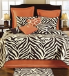 Zebra Cotton Filled Full/Queen Quilt