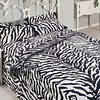 Zebra Print Pillowcases-200 Thread Count