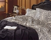 Zebra Satin Standard Size Pillowcases