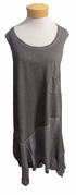 Amadi Chanelle Sleeveless Dress - Charcoal